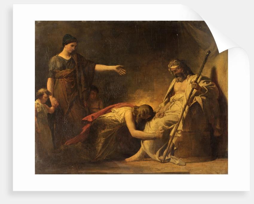 Dismissal of Hagar by F. Holbeck