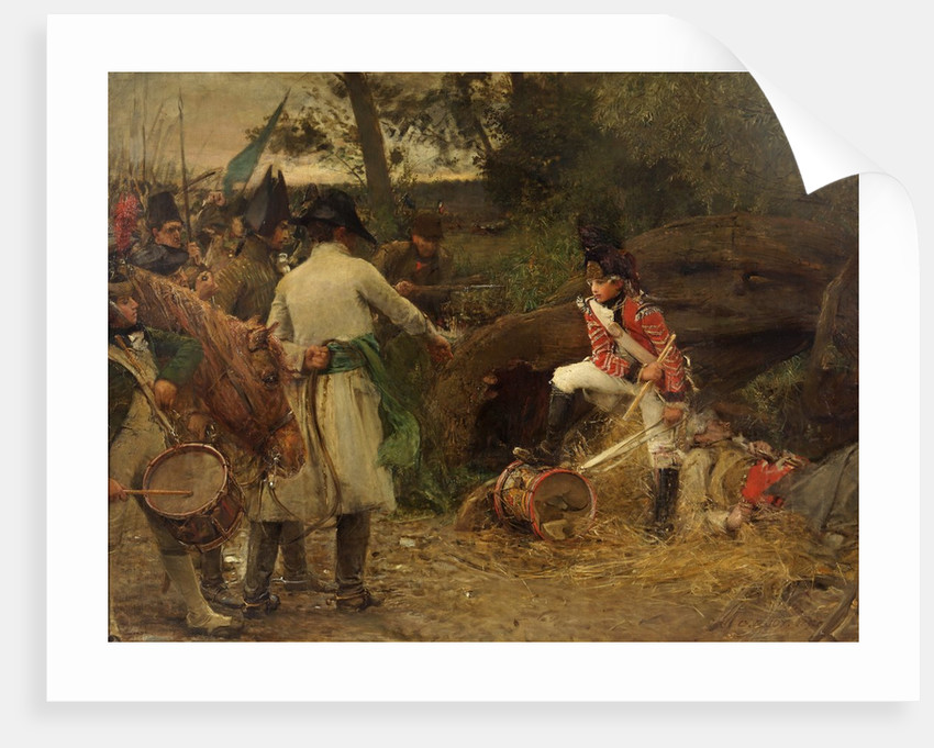The King's Drum Shall Never be Beaten for Rebels 1798 by George William Joy