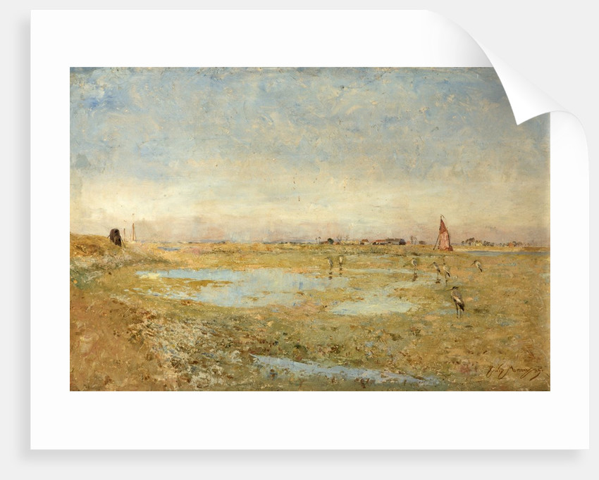 The Rother at Rye by Sir David Murray