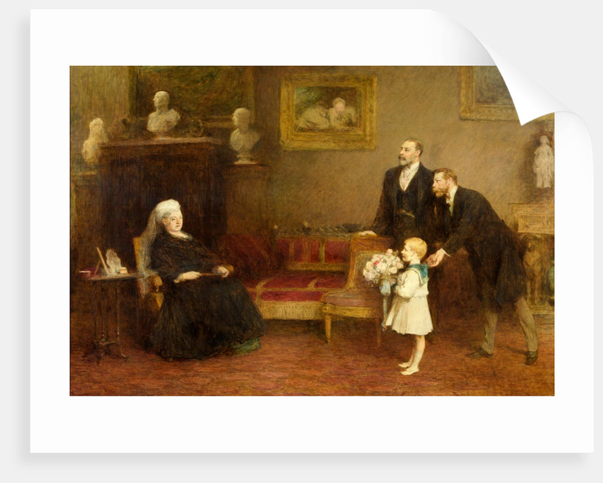 The Four Generations by William Quiller Orchardson