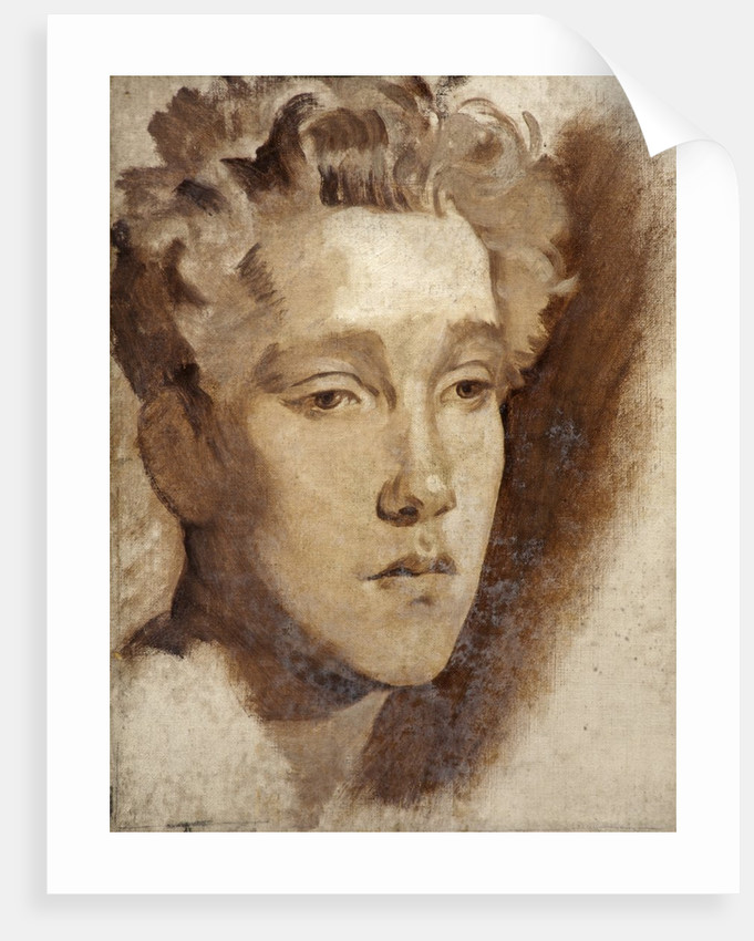Study of a Young Man by Glyn Warren Philpot