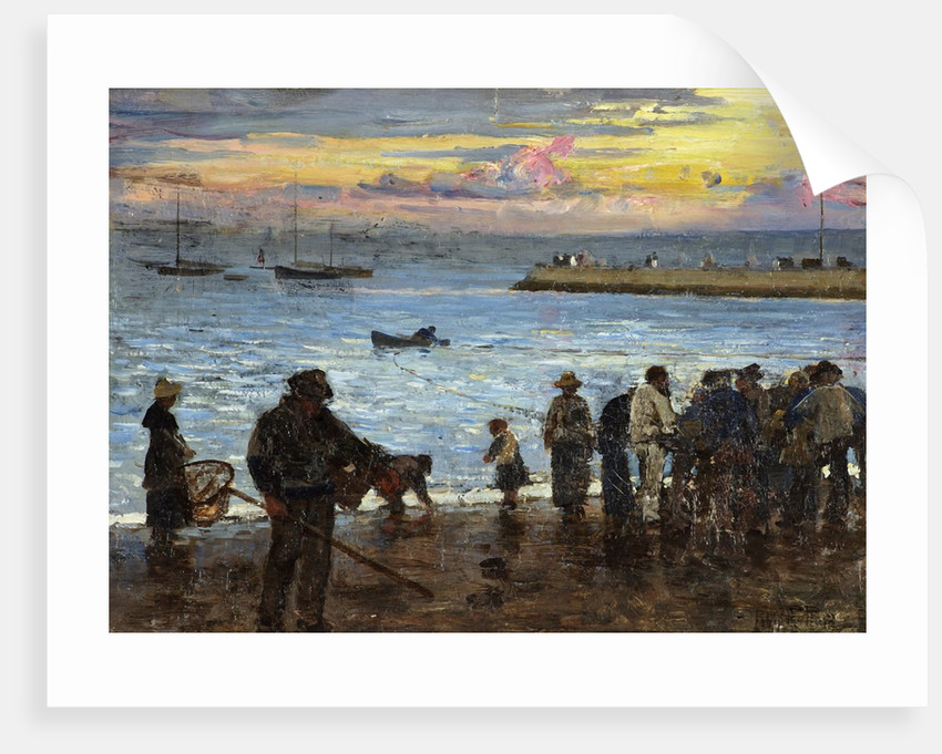 Watching the Fishing Boats by John Robertson Reid