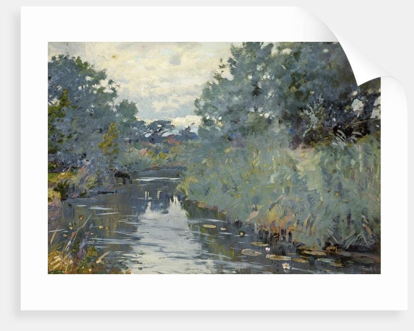 Christchurch River Scene by Frank Richards