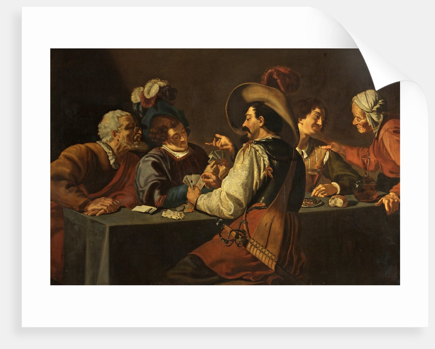 The Gamblers by Theodor Rombouts