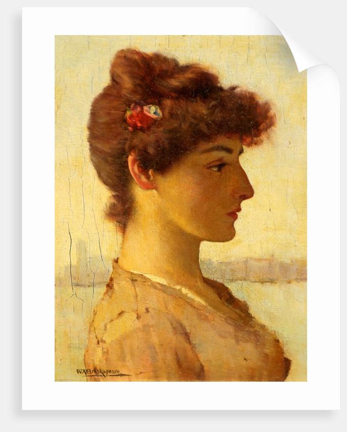 A Venetian Beauty by William Arthur Breakspeare