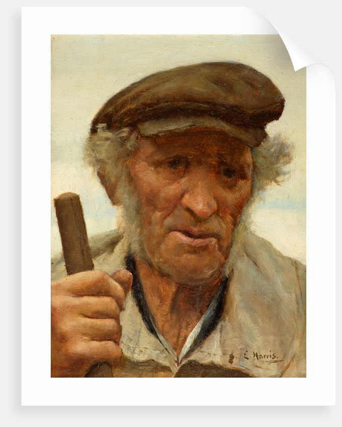 A Normandy Peasant by Edwin Harris
