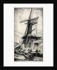 A Dutch Mill, Dordrecht by Leslie Moffat Ward