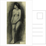 Standing Female Nude by Thomas Bromley Blacklock