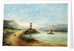 Seascape with Lighthouse by E. Hemingway