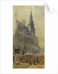 The Rathaus, Aachen by John Frederick Fogerty