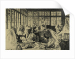Hospital Supply Depot at Roehampton Club by Ethel Gabain