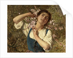 Capri Girl with Flowers by Sophie Anderson