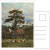 Landscape with Poultry by William Baptist Baird