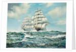 The Great Tea Race 1886, Ariel and Taiping by Arthur Bradbury