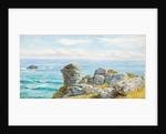On the Cornish Coast by John Brett