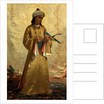 A Moorish Girl with Parakeet by Henrietta Brown