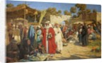 Market at Damascus by Percy R. Craft