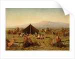 Persian Encampment by Ovid Curtovitch