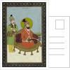 The Persian King, Nadir Shah by Indian School