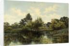 Wick Ferry, Christchurch by Arthur Henry Davis