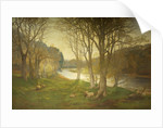 A Misty Morn on the Dee by David Farquharson