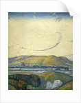 Sussex, Mount Caburn from Itford Hill by Edward Reginald Frampton