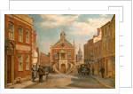 Market Street in Poole, Dorset by Bernard Finnigan Gribble