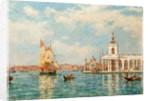 Old Custom House, Venice, Italy by Bernard Finnigan Gribble