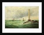 Seascape with Eddystone Lighthouse by E. Hemingway