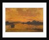 Towards Sunset [near Southampton Water] by Lauritz Holst