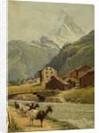 The Matterhorn from the Environs of Zermatt by Bryan Hook