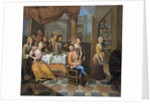 Banqueting Scene by Peter Jacob Horemans