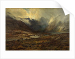 Loch Cornisk and the Cuillins, Skye by Louis Bosworth Hurt