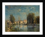 View on the River by G. Kinnassey