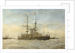 A British Battleship by E. Le Patourel