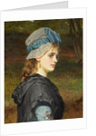 A Girl's Head by Charles Sillem Lidderdale