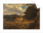 The Upland Shepherd by William Linnell