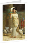 Alethe, Attendant of the Sacred Ibis by Edwin Longsden Long