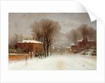 Winter Scene, Hampstead Heath by Robert Finlay Mcintyre