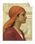 A Capri Girl by Charles Edward Perugini