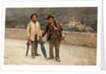 Intinerant Umbrella Sellers by V. Pupale