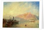 Ehrenbreitstein, from Coblenz on the Rhine by James Baker Pyne