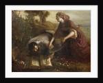Burying the Bible by Joseph Severn