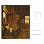 A Dutch Interior in 1849 by Hubertus van Hove
