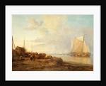 Unloading Dutch Fishing Boats by James Webb
