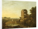 View in the Strada Nomentana by Richard Wilson