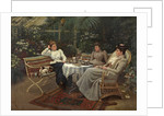 Tea in the Conservatory by Harry E.J. Browne
