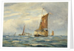 A Breezy Day on the Medway by William Lionel Wyllie