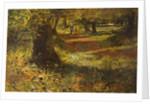 Sunlit Woodland Path by William Morrison Wyllie