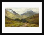 Cattle on a Highland Road by Louis Bosworth Hurt